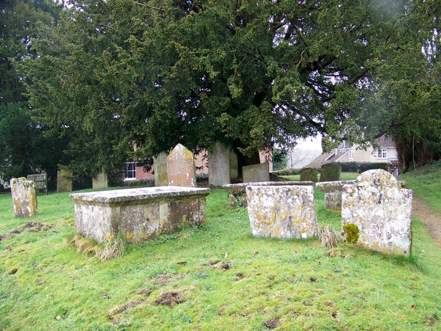 Tombs in the Churchyard
