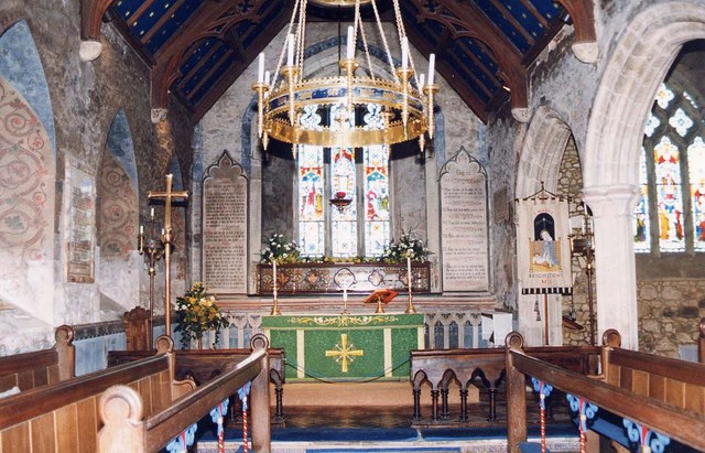 St Mary, Brighstone - Sanctuary