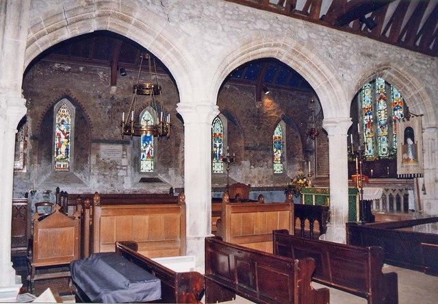 St Mary, Brighstone - Arcade
