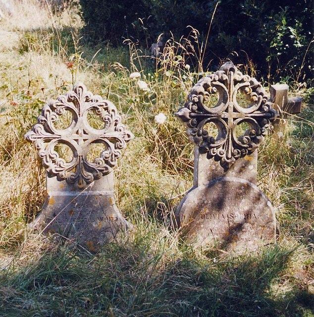 St Mary, Brighstone - Gravestones