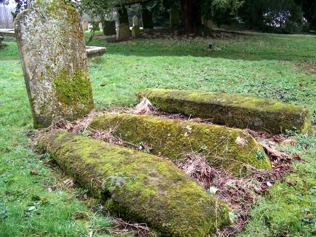 Tombs in the Churchyard of St Mary's Church