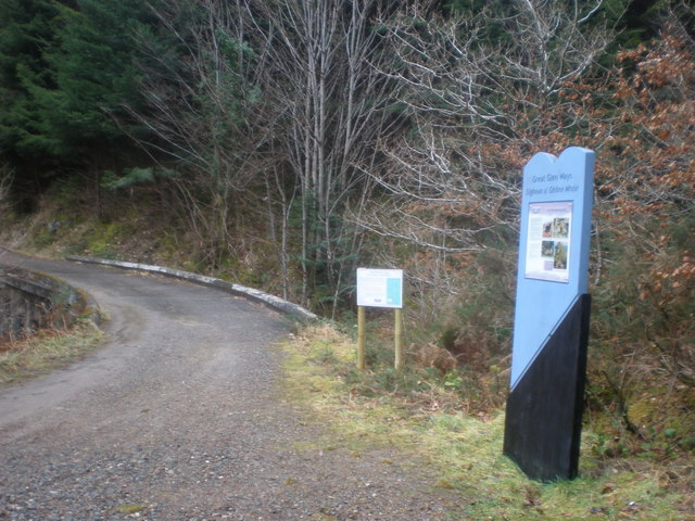 Bridge over Allt Saigh on Great Glen Way