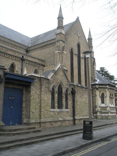 Side view of Holy Trinity, Windsor