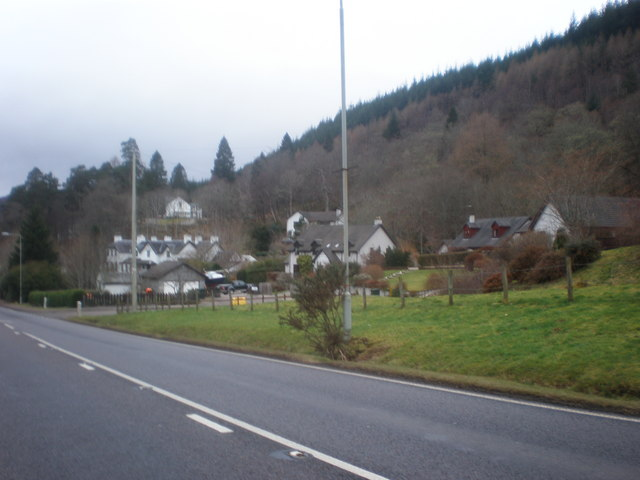 Approaching Invermoriston