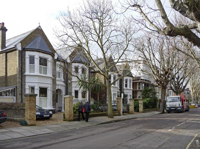 Lichfield Road, Kew