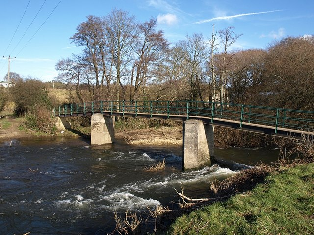Footbridge over the Teign