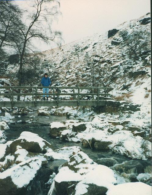 Footbridge at Blake Dean