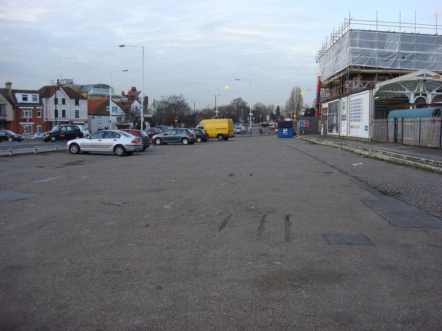 Car Park, Hampton Court station