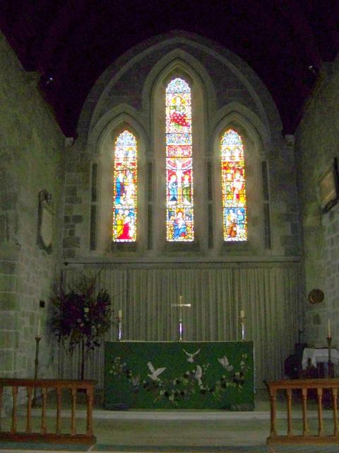 Interior, St Mary's Church, Donhead St Mary