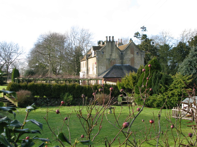 The back of The Old Rectory