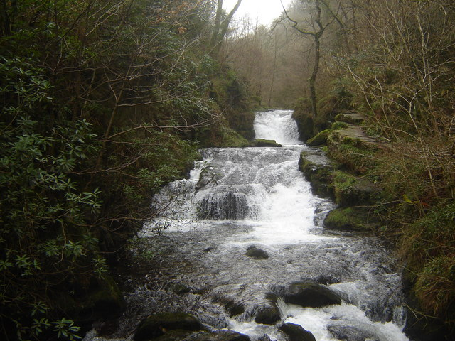 The waterfall, Watersmeet