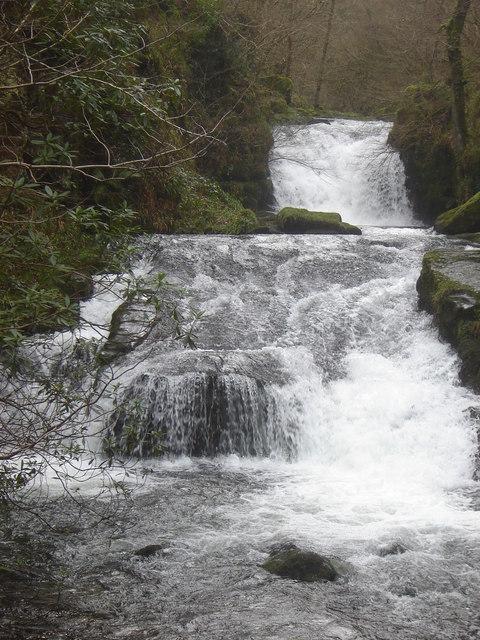 The waterfall, Watersmeet
