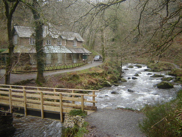The East Lyn by Watersmeet House