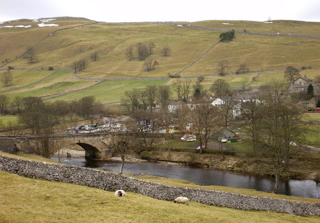 River Wharfe at Kettlewell
