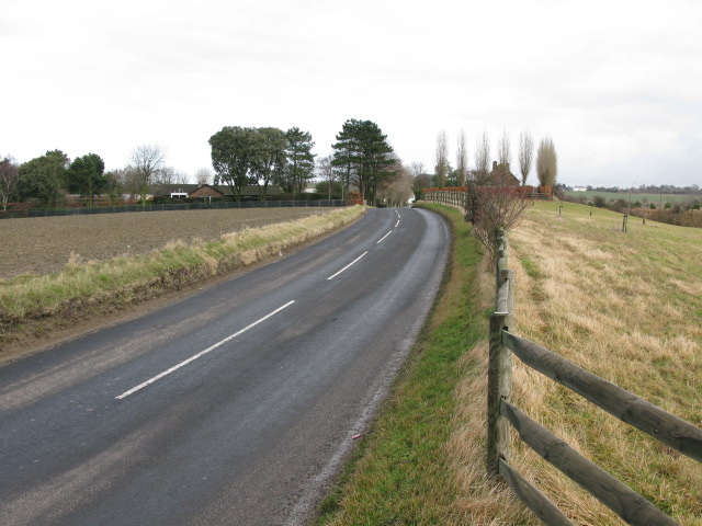 Looking NE along Beacon Lane