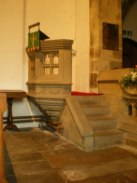 St Mary's Church, Kettlewell, Pulpit