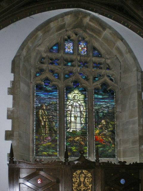 St Mary's Church, Kettlewell, East window