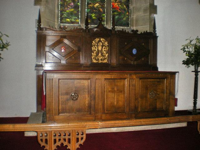 St Mary's Church, Kettlewell, Altar