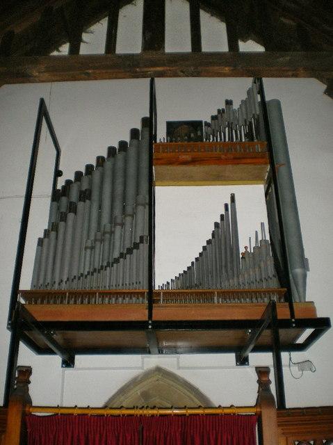 St Mary's Church, Kettlewell, Organ