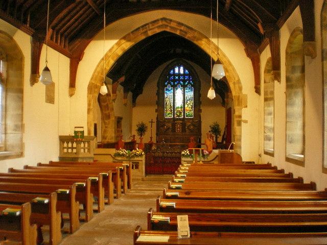St Mary's Church, Kettlewell, Interior