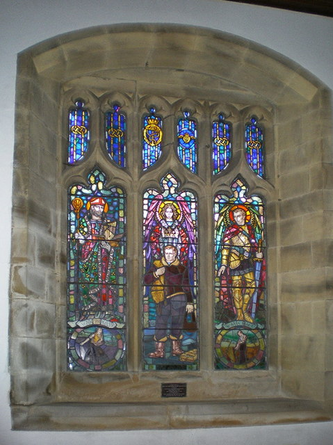 St Mary's Church, Kettlewell, Stained glass window