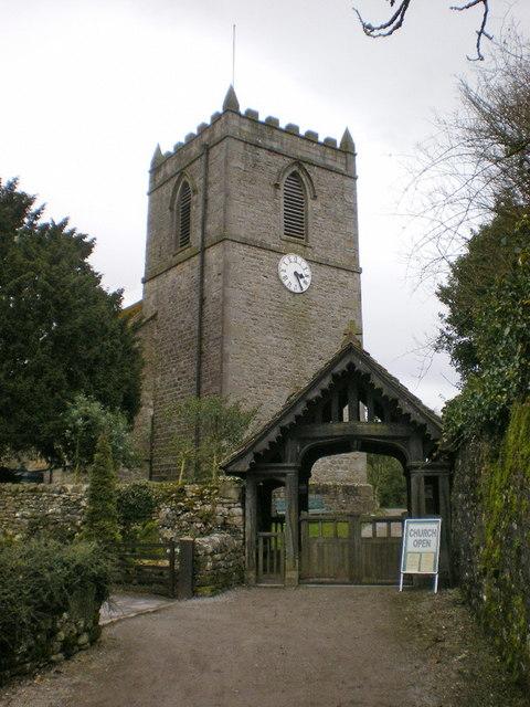 St Mary's Church, Kettlewell, Lych gate