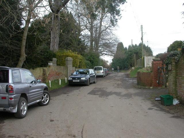 West Parley, Church Lane