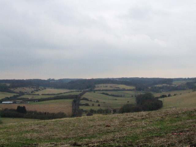 View over Yelsted, Kent