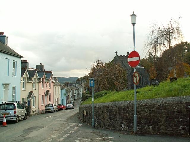 View down Church Street