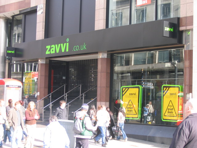 Zavvi Store, Closed. Another victim of Britain's Economic Miracle