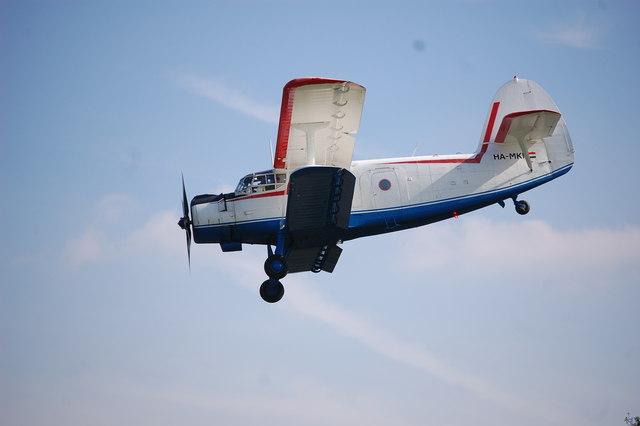 Plane At Popham