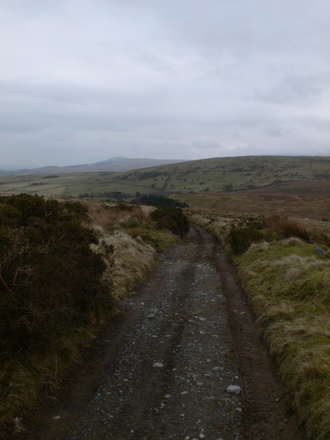 Bridleway between Ysbyty Ifan and Penmachno