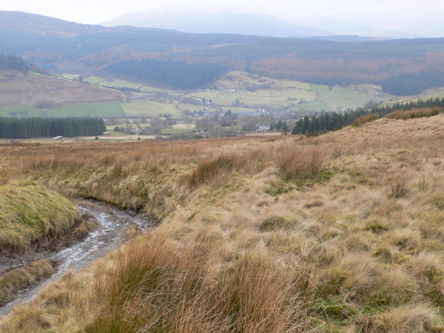 Moorland to the east of Penmachno
