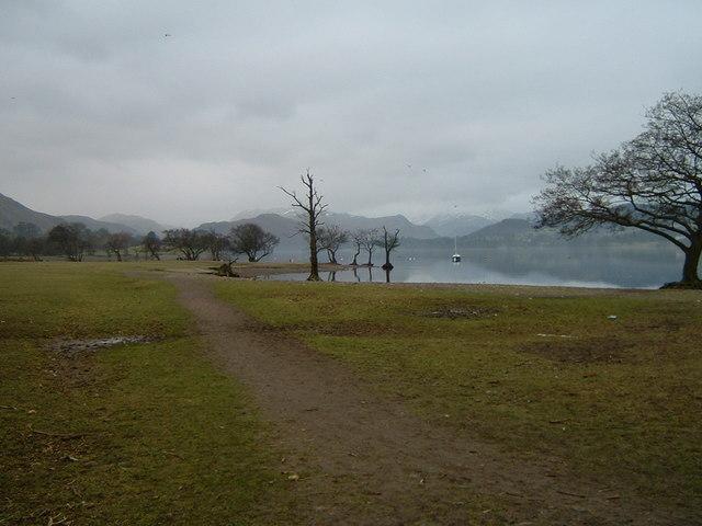 Lakeside path, Ullswater