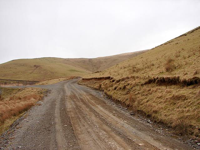 Track beneath Y Foel