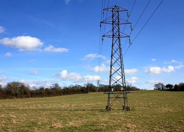 Pylons near Brotheridge Green
