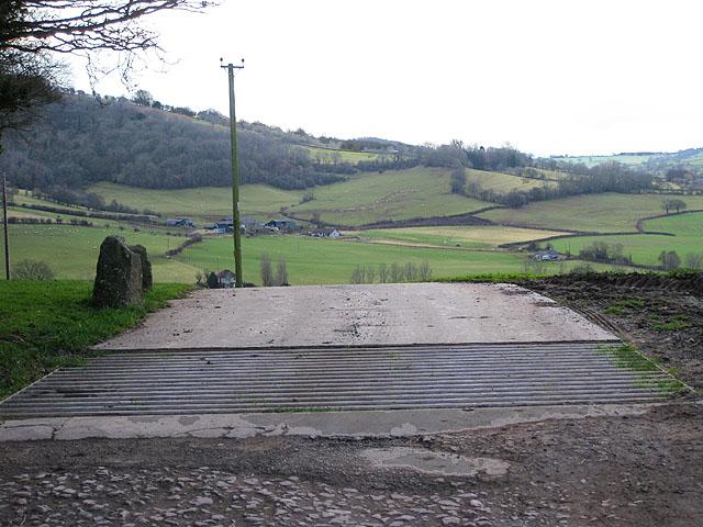 Cattle grid, Court Farm