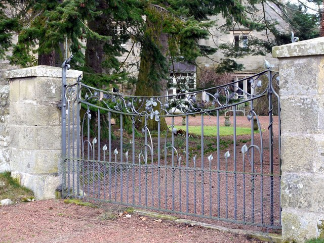 Gate to the Vicarage, Alnham