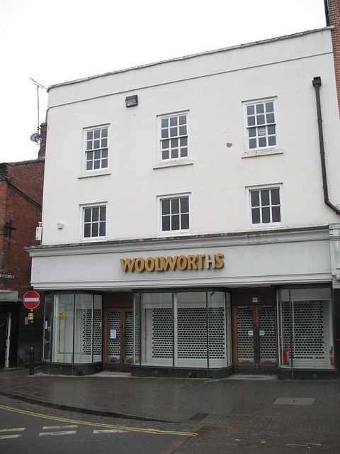 Former Woolworth's store, Ludlow