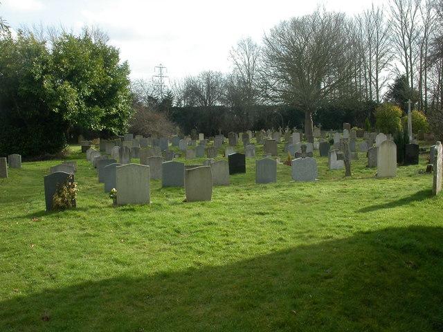 West Parley, churchyard