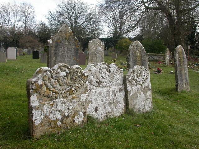West Parley, gravestones
