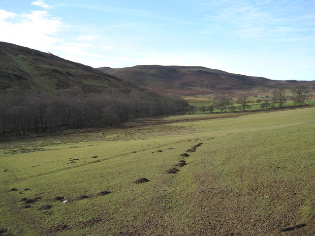 Farmland near Cilcain