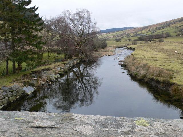 The River Machno at Pont Rhyd-y-Gro
