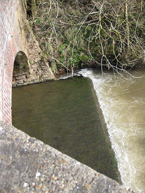 Brick and stone bridge
