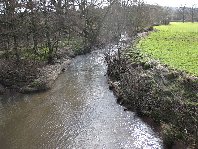River Trothy, view downstream