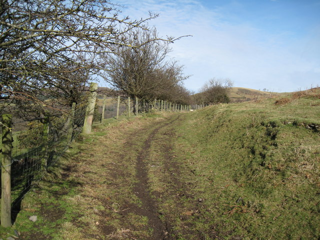 Footpath to Moel Arthur Car-park