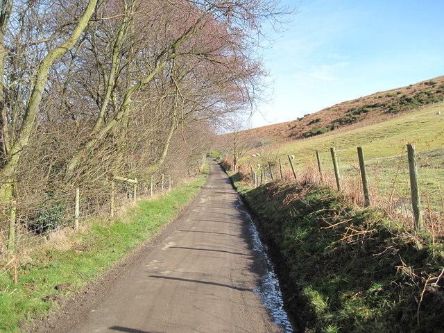 Road towards Moel Arthur