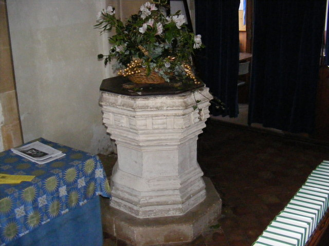 Font of St.Mary's Church, Walpole