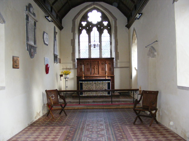 Altar of St.Mary's Church, Walpole