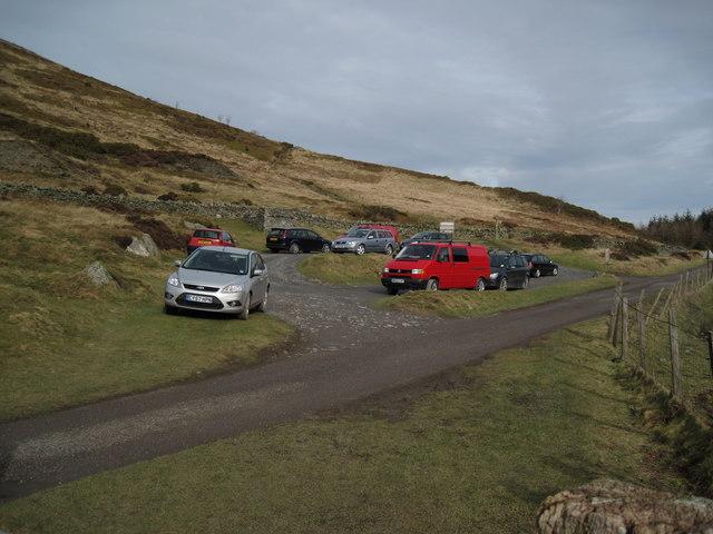 Moel Arthur Car-park.